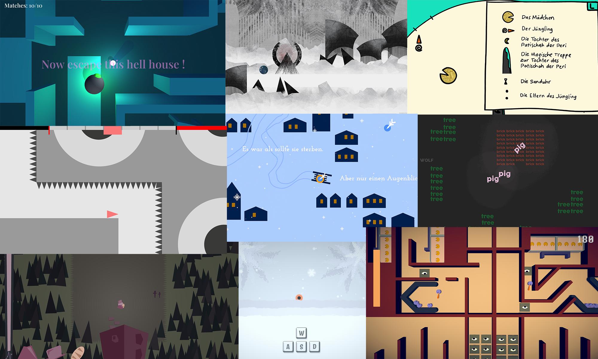 LavaterGames - Spiel mit Zeichen - ZHdK GameDesign